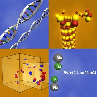 3d molecules atoms