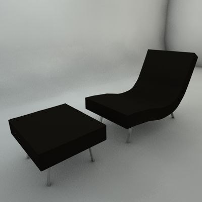 pillet sofa 3ds