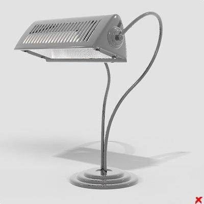 3d model of lamp office