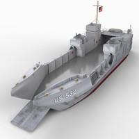 lct boat mk vi 3d model