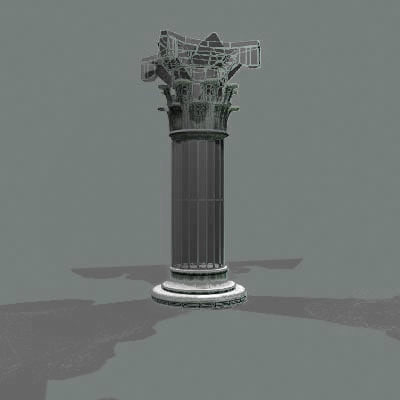 column classical architectures 3ds