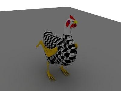 blend chicken