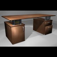 maya wooden desk