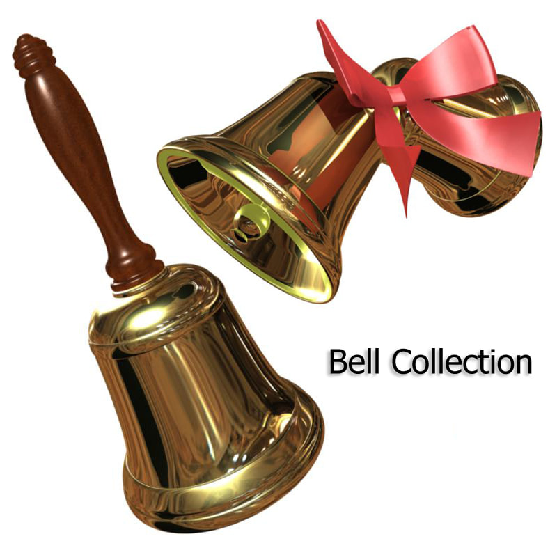 3ds max bell ring