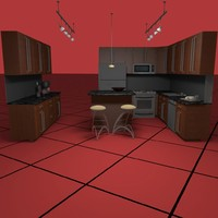 KITCHEN SET05 [3DS]