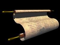 scroll dead sea 3d model