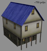 Medieval House - MS3D