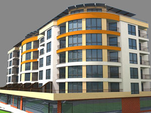 3d model building interior