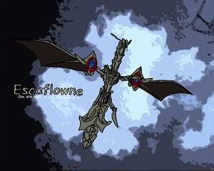 free max model escaflowne dragon