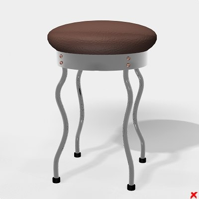 3ds chair stool