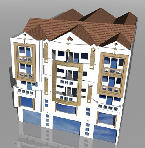 3ds max immeuble