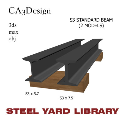 max s3 standard beam steel
