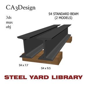 maya s4 standard beam steel