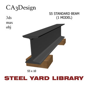 s5 standard beam steel 3ds