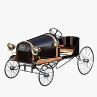 Antique Luxury Pedal Car