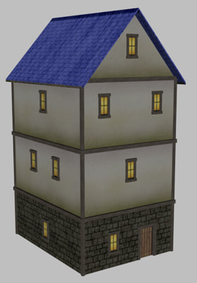 medieval house 3ds free