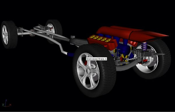 free max model chassis engine