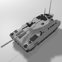 tank military 3d model