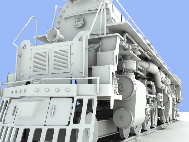 max 3985 challenger locomotive