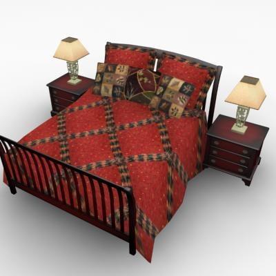 maya ribbed bed cabinets