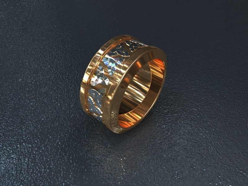 celtic ring 3d model