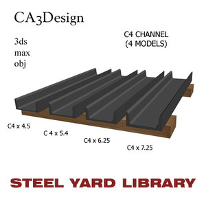 c4 channel steel max