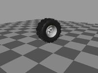 wheel & tire.3ds