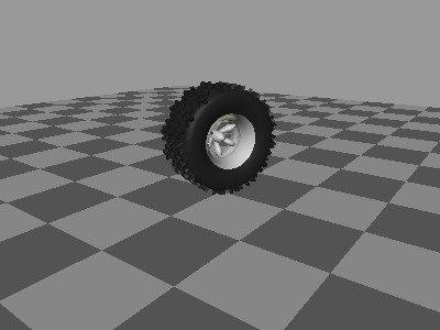 3ds max tire rim
