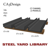 3d c7 channel steel