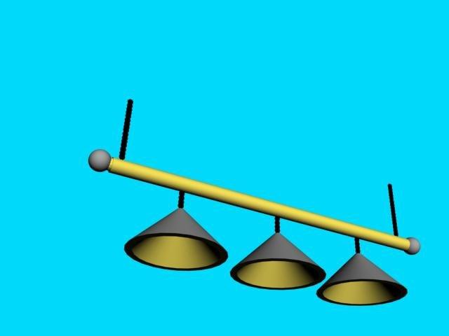 max pool billiards table light
