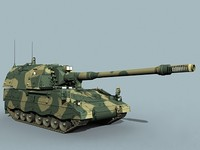 german self propelled 3d model