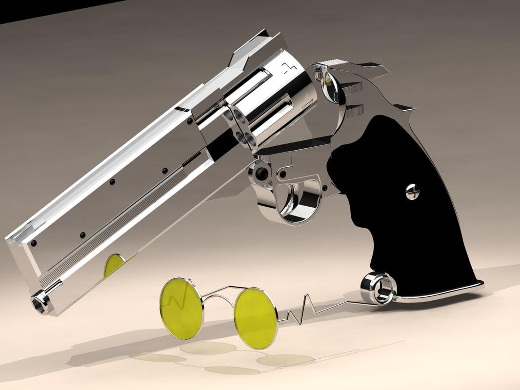 3d model of trigun