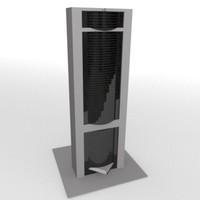 skyscraper sky scraper 3d model