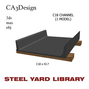 max c18 channel steel