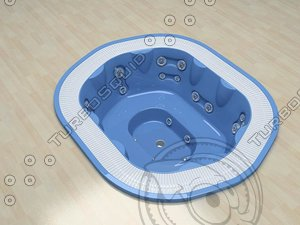 jacuzzi sienna experience 3d model