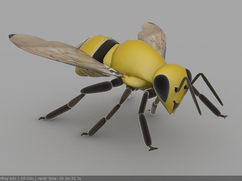 3d max bee