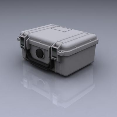 3d 3ds pelican case