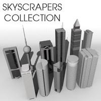 skyscraper sky scraper dxf