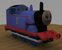 3d model thomas tank engine