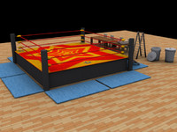 Wrestling Kit (Max, 3ds, Obj)