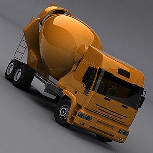 semi trailer truck 3d max