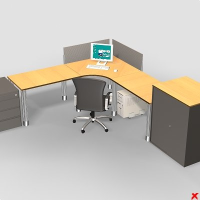 dxf office table