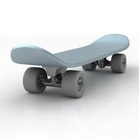 3d model skateboard board skate