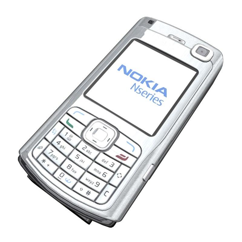 nokia n70 3d model