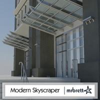 Modern Box Skyscraper