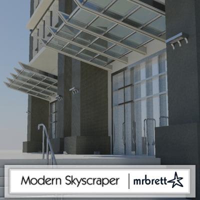 story modern skyscraper max