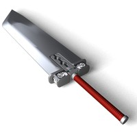 3dsmax cloud strife sword