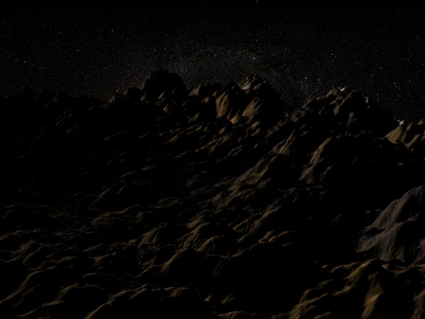 free mars land 3d model
