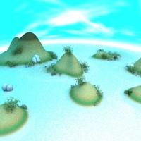 lightwave tropical island