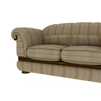 classic couch 3d model